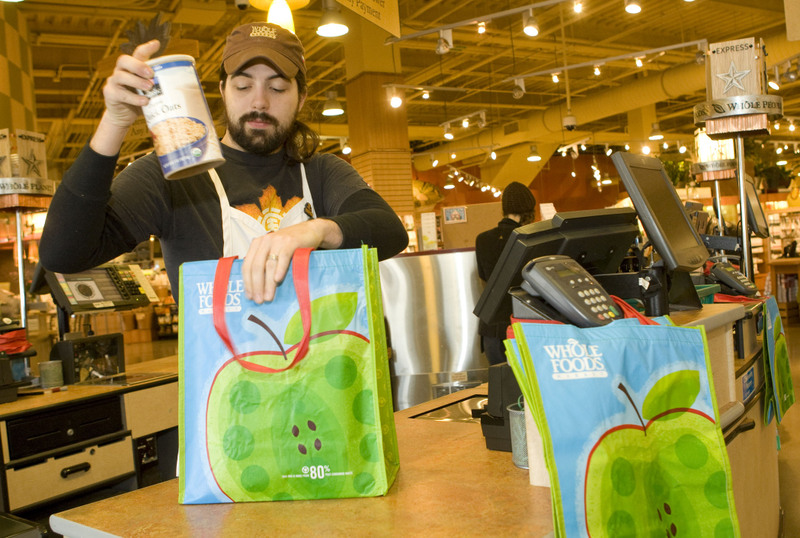 Free Reusable Bags At Whole Foods Green Purse