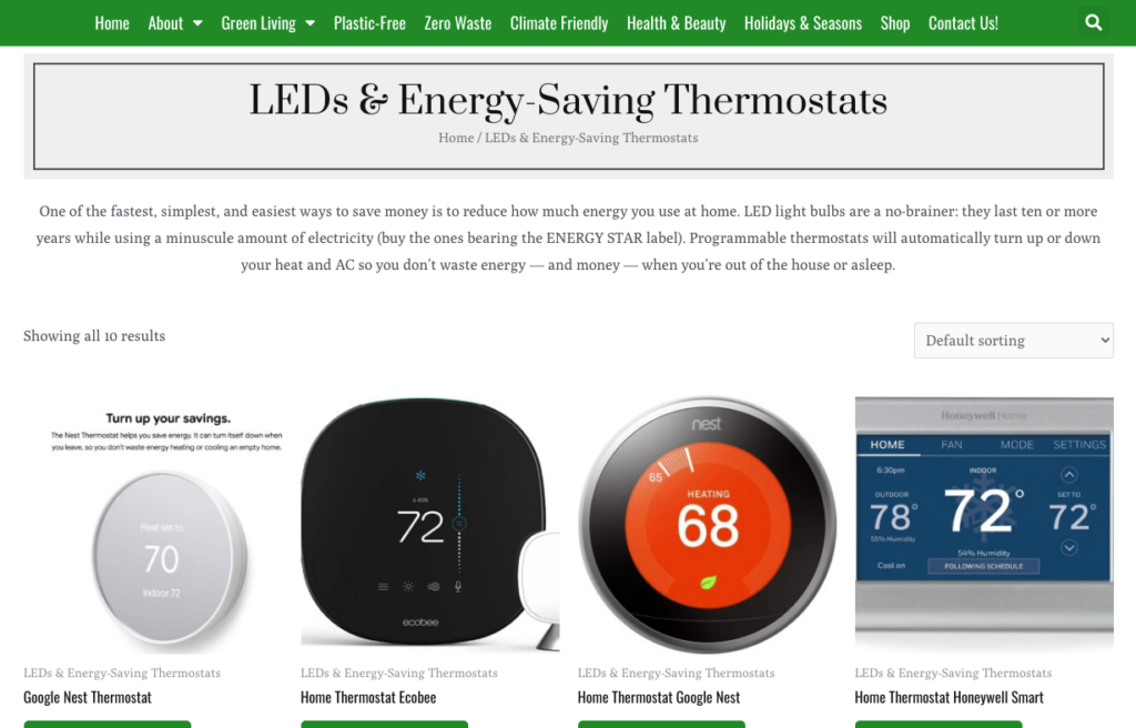 marketplace shows more smart energy-saving thermostats