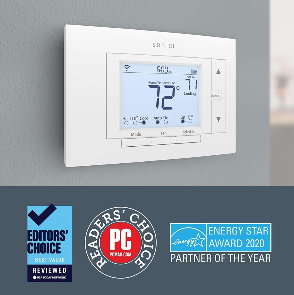 smart energy-saving thermostat