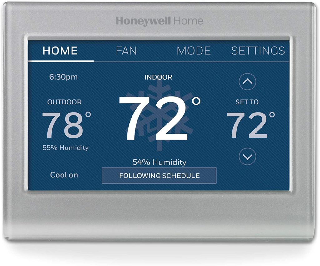 Honeywell smart energy-saving thermostat